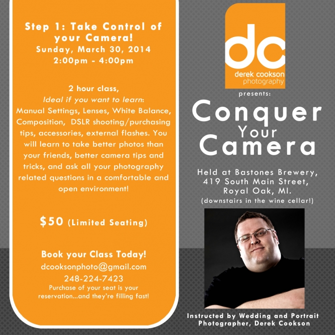 Conquer your camera 2014